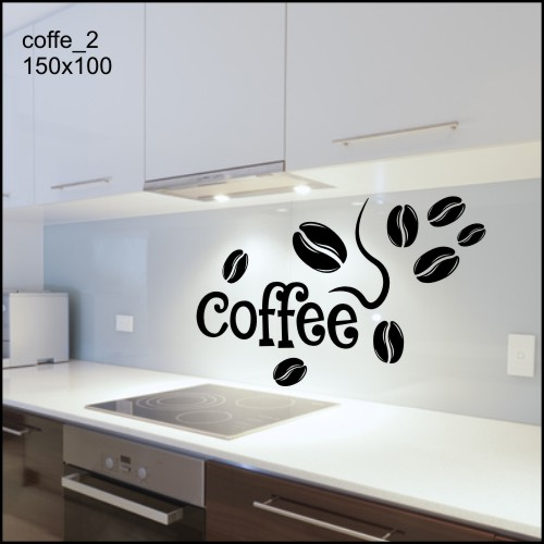 Szablon Malarski Kuchnia Kawa Herbata Naklejka Xl