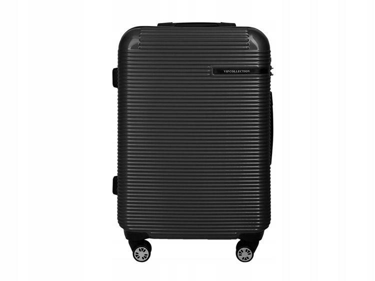 e2e6eaacea370 TWARDA walizka bagaż 4 kółka KAUCZUK TSA GWARANCJA - 7462053488 ...