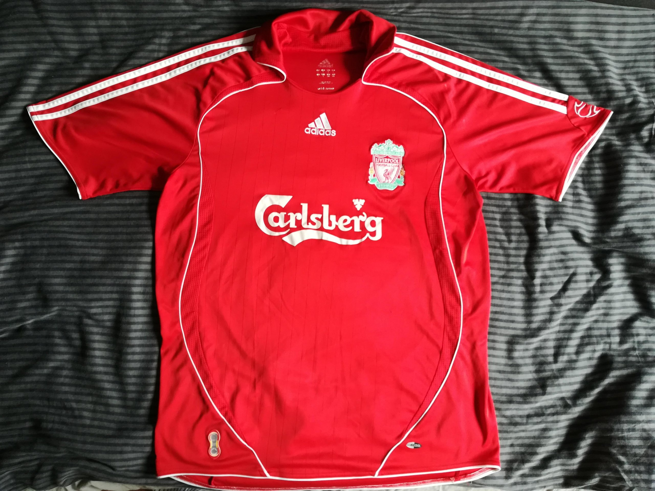 sale retailer cd3e7 d5da6 Koszulka Liverpool 06/07 L