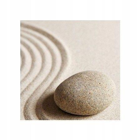 Kamień na piasku - plakat premium