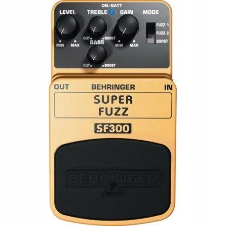 Behringer SF300 - efekt gitarowy fuzz/distortion