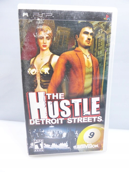 GRA NA PSP THE HUSTLE DETROIT STREETS ANG