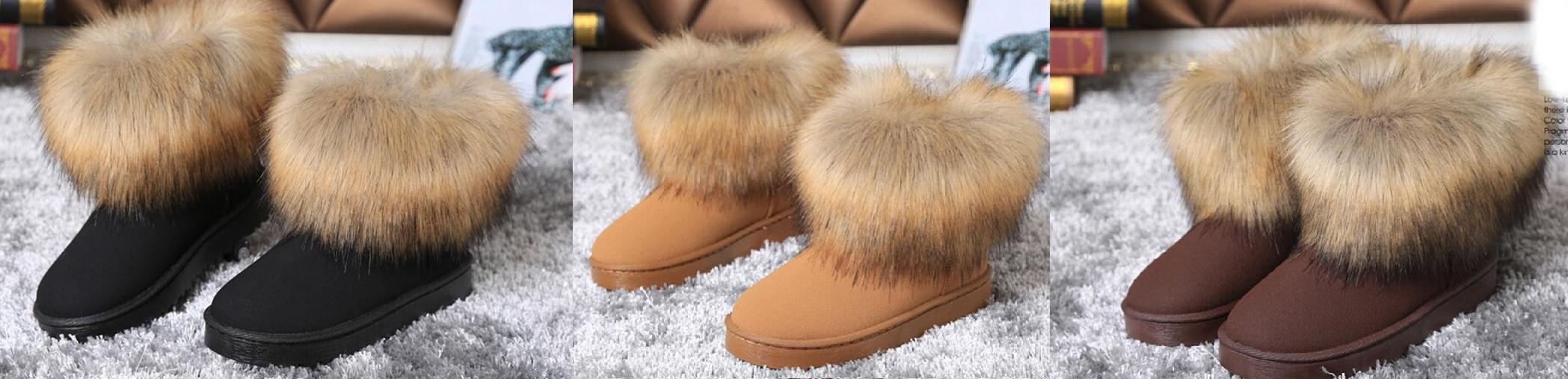 c0d6682702842 Kozaki EMU UGG z futrem lisem śniegowce eskimoski - 6844464107 - oficjalne  archiwum allegro