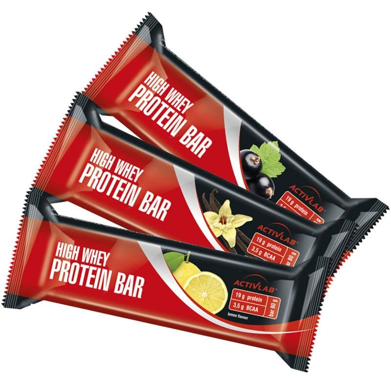 Baton, białko - Activlab High Whey Protein Bar 80g
