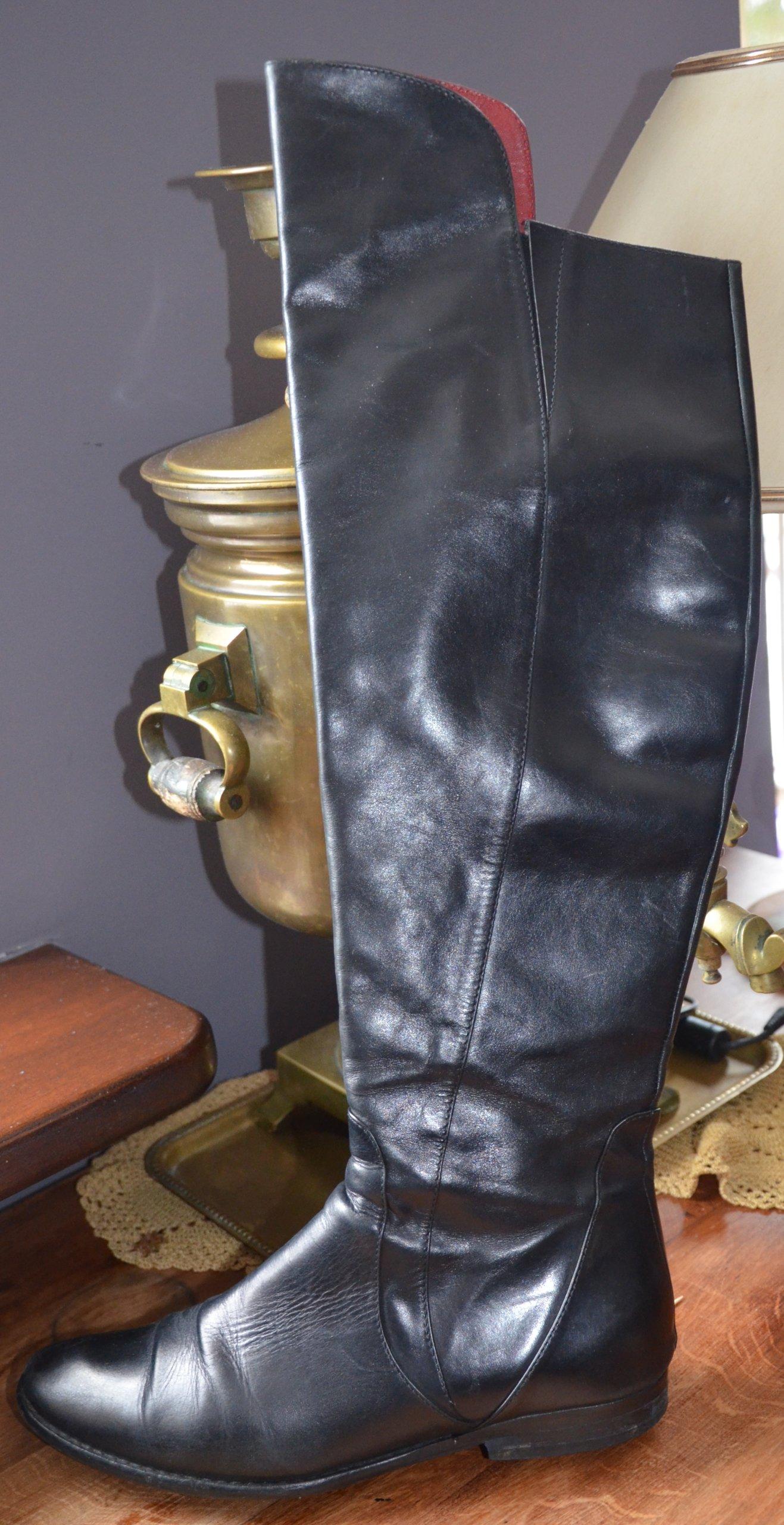 ad76b1849a771 Kozaki muszkieterki skóra naturalna KAZAR 38 - 7165311305 ...