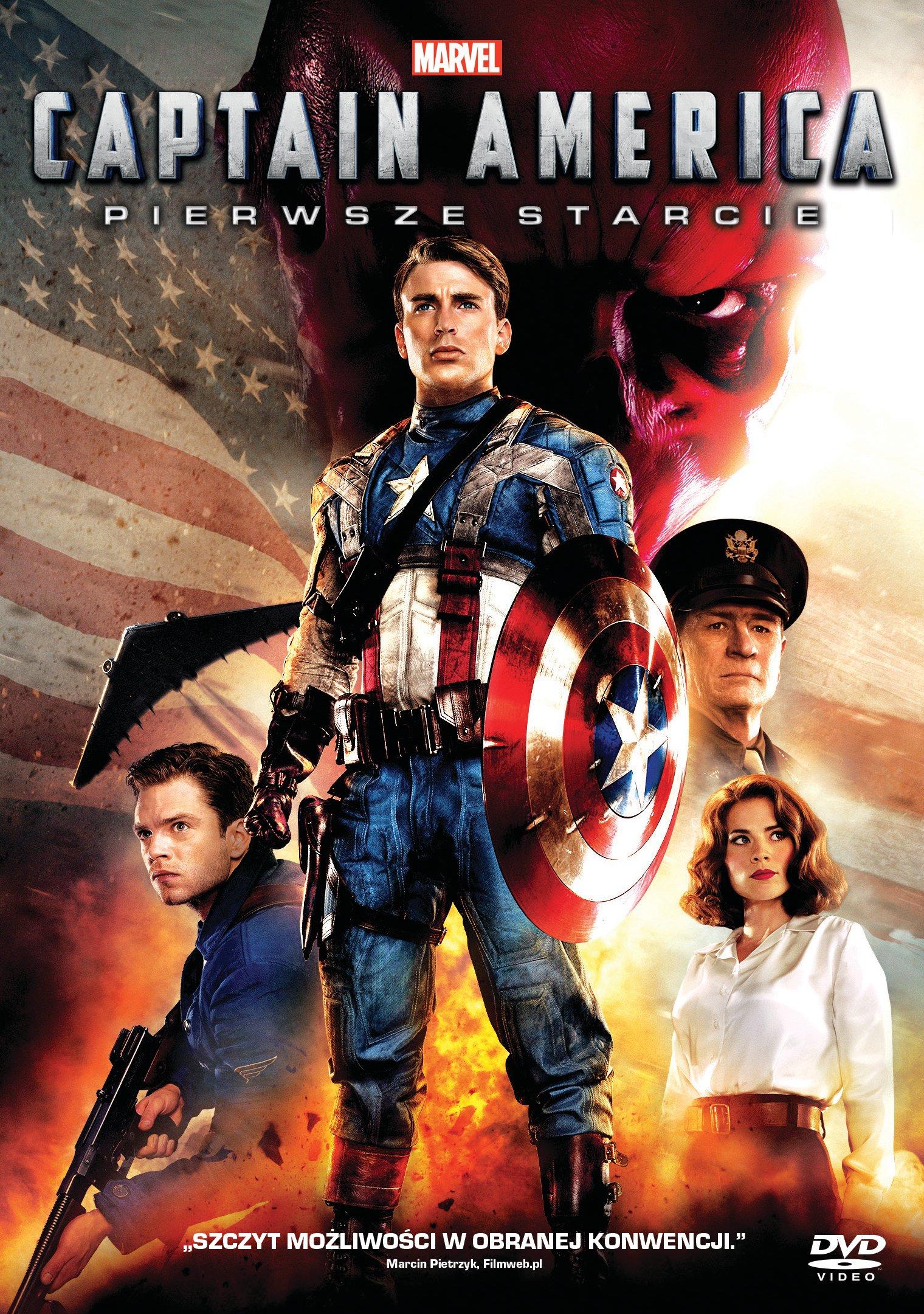 Płyta DVD Captain America: Pierwsze starcie DVD