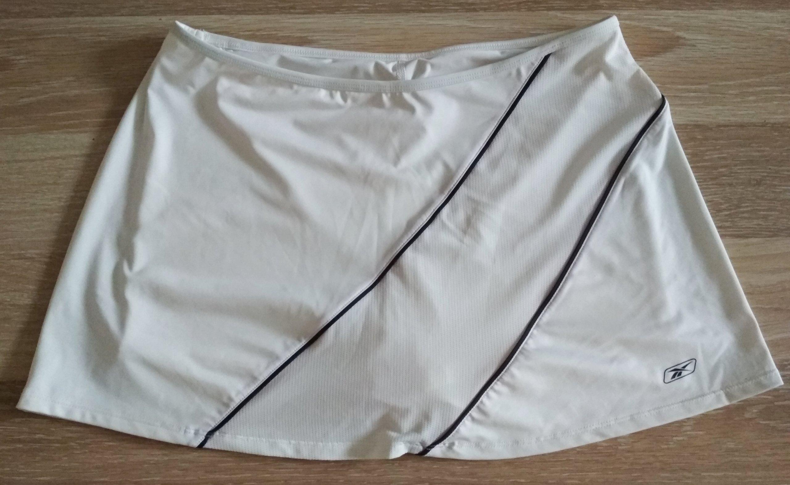 spódniczka tenisowa Reebok M/38 biała stan idealny