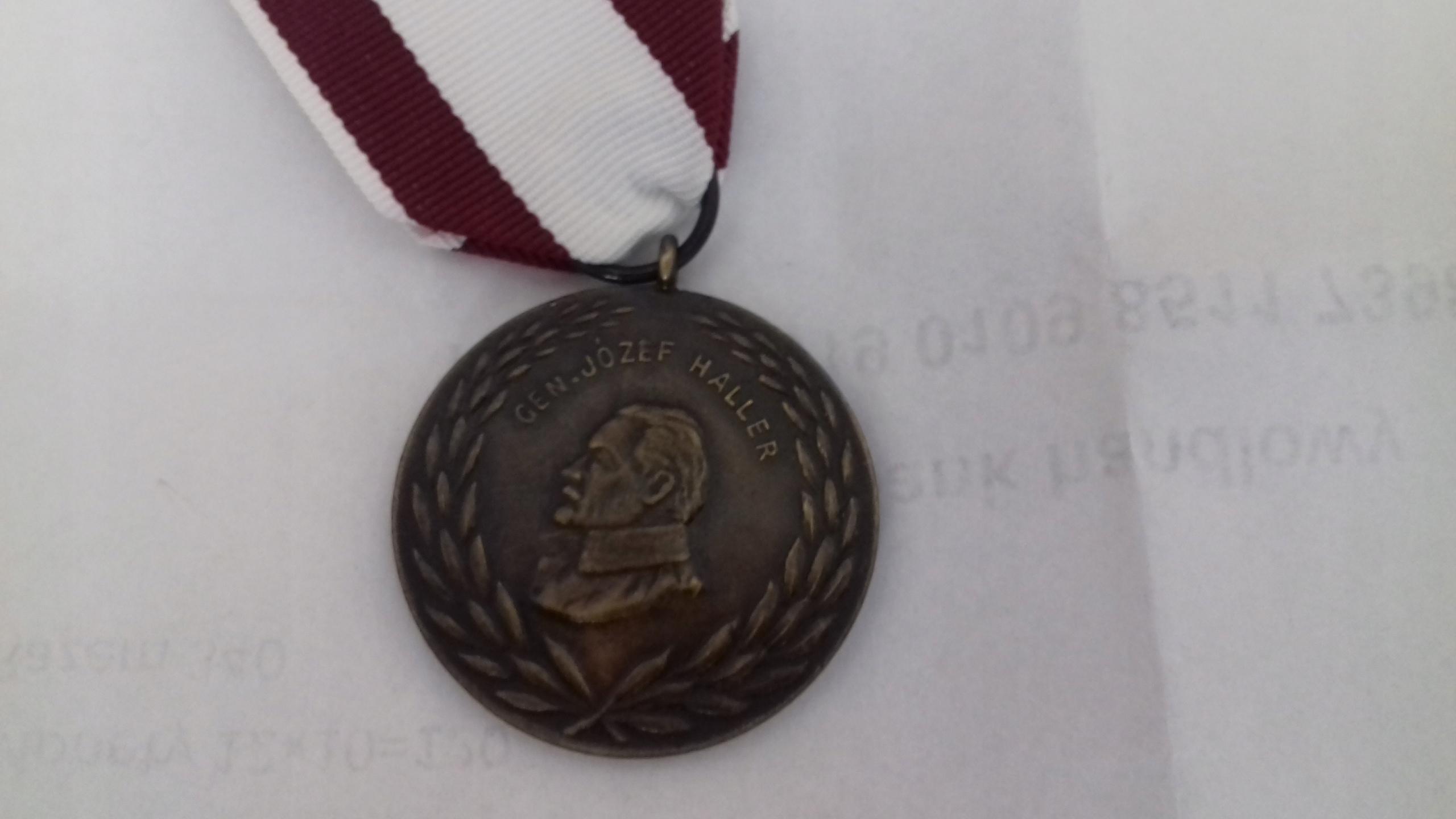 Hallera gen. Medal weteranów