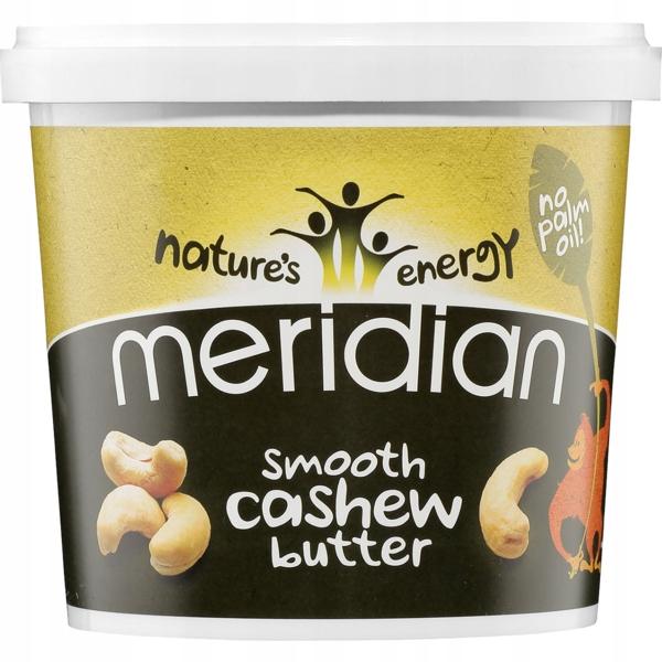 Masło z Nerkowców Smooth Meridian 1000g XXL 100%