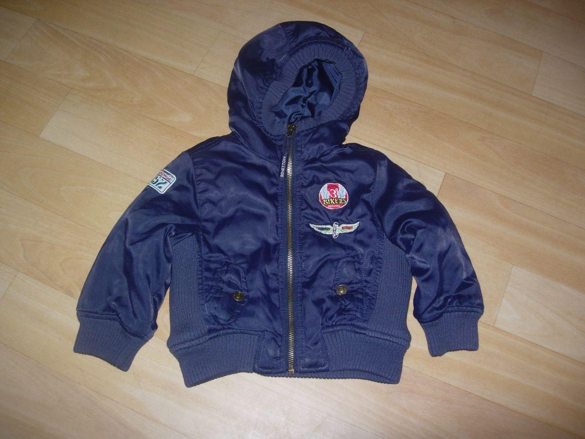 571f80e643b2c Kurtka jesienno-zimowa Benetton 80 2latka chłopiec - 7637010189 ...
