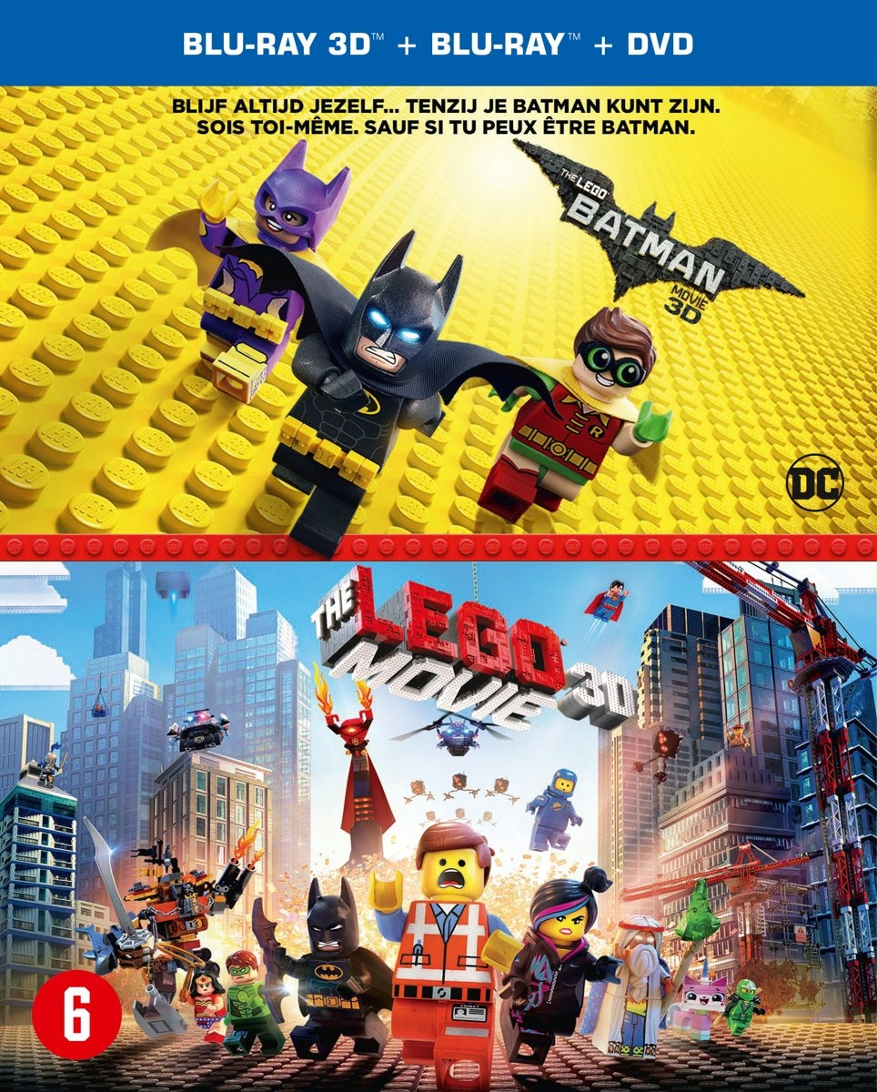 BLU-RAY Animation - Lego Batman Movie / -3D- .. Le