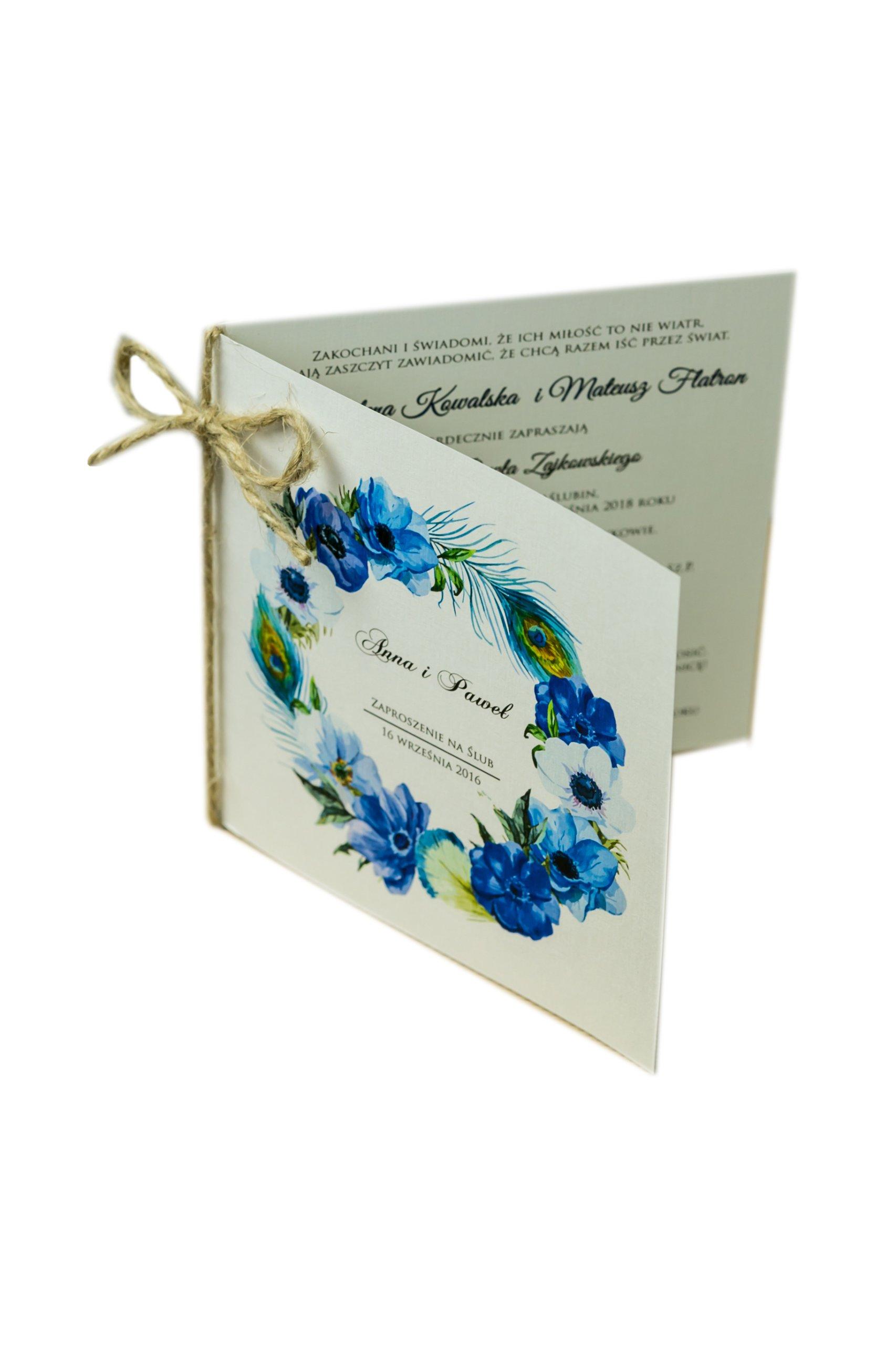 Zaproszenia ślubne ślub Cywilny Zawiadomienia 7052137155