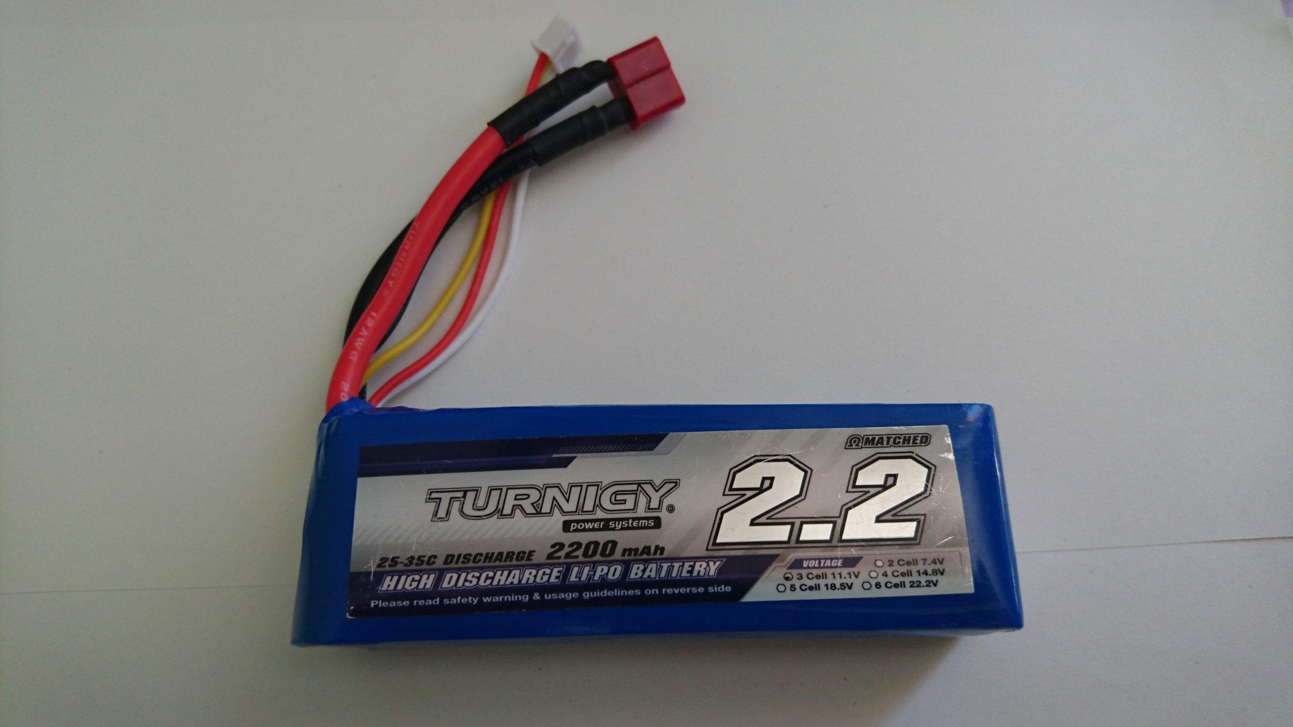 Bateria Li Po 111v 3s 2200mah 25c 35c Turnigy Rc 7388167587 Lippo Tplug