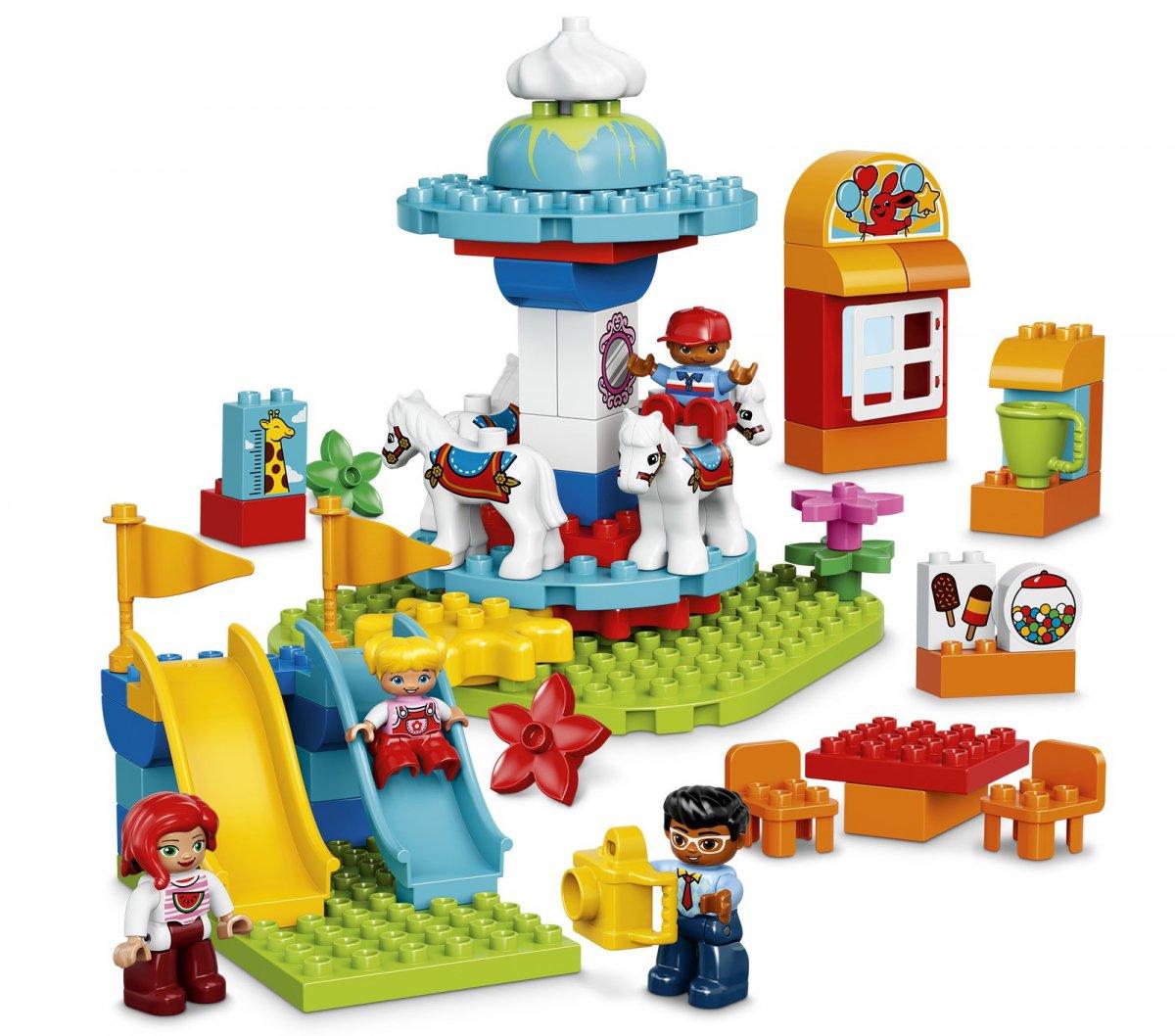 Klocki Lego Duplo 10841 Wesołe Miasteczko Gratis 7091552536