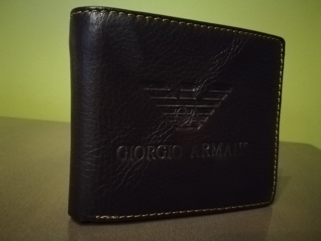 90309f6fbabdb portfel męski Giorgio Armani - 7353172155 - oficjalne archiwum allegro