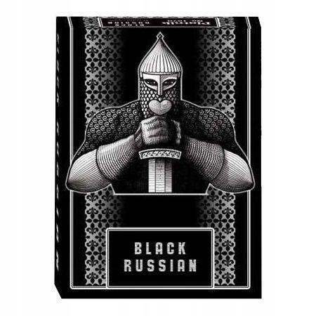 KARTY POJEDYNCZE BLACK RUSSIAN PIATNIK, PIATNIK