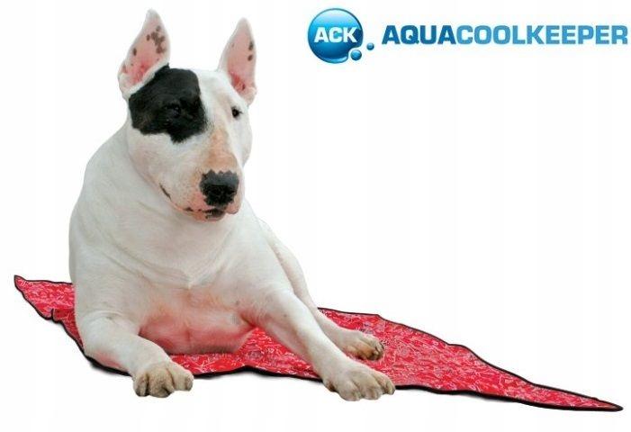 b84eeb12f4b8bf Aqua Coolkeeper Chłodząca mata dla psa Red L - 7438663199 ...