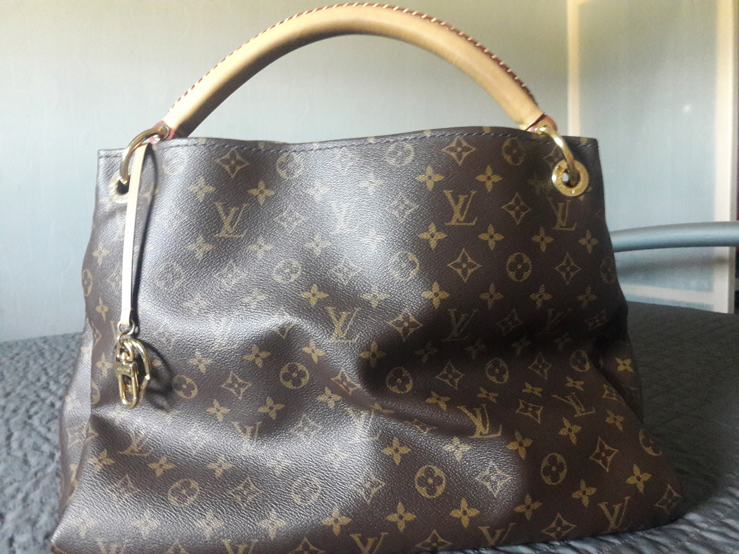 289753854a1e2 Torebka Louis Vuitton artsy mm 100 % oryginalna - 7652239137 ...
