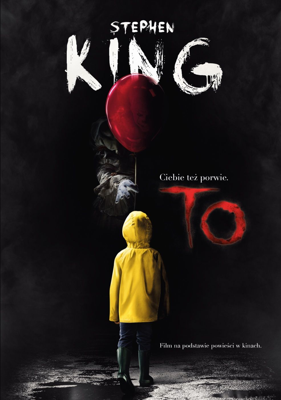 To - Stephen King Twarda Okładka IT