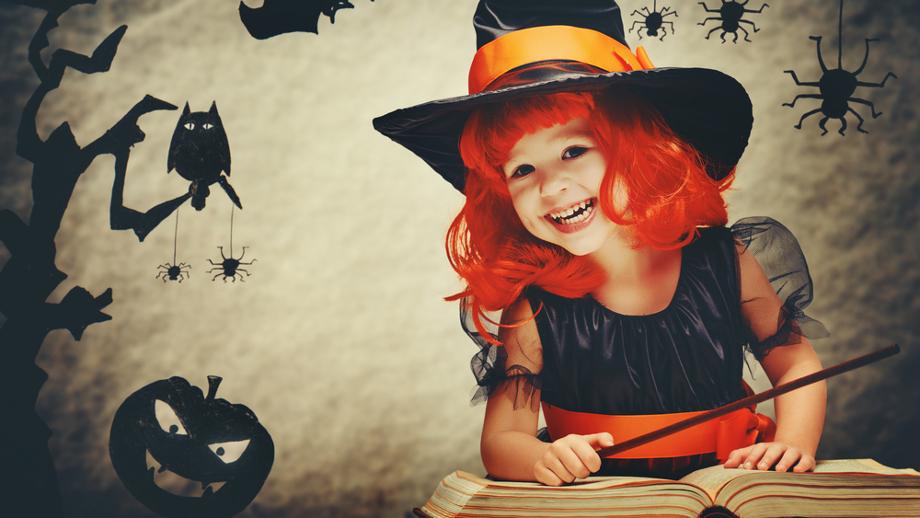 Wróżki, czarownice, księżniczki - halloweenowe kostiumy dla dziewczynek
