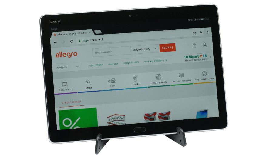 Test Huawei MediaPad M3 Lite 10 – multimedialny tablet w dobrej cenie