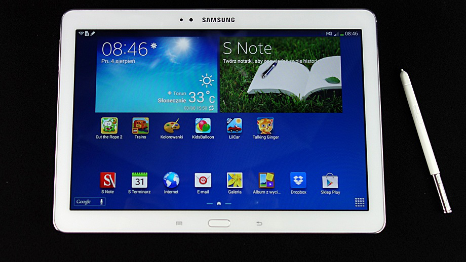 Test Samsunga Galaxy Note 10 1 2014 Edition Tablet Doskonaly Allegro Pl