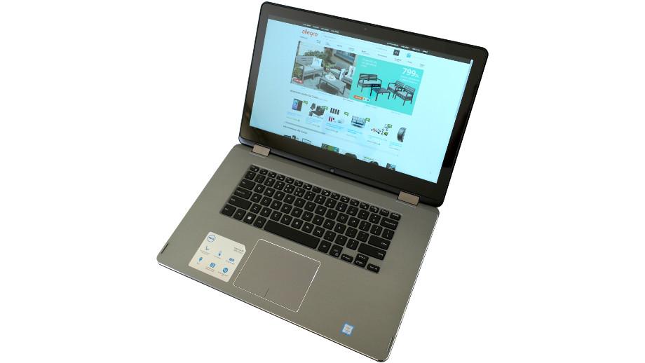 Test laptopa 2 w 1 Dell Inspiron 15 7568 – wydajna hybryda z wyższej półki