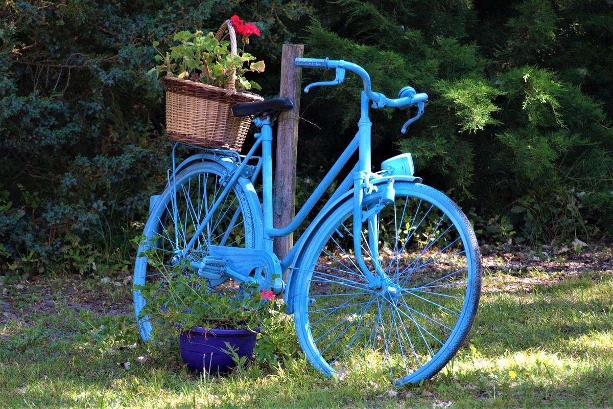 záhon bicykla