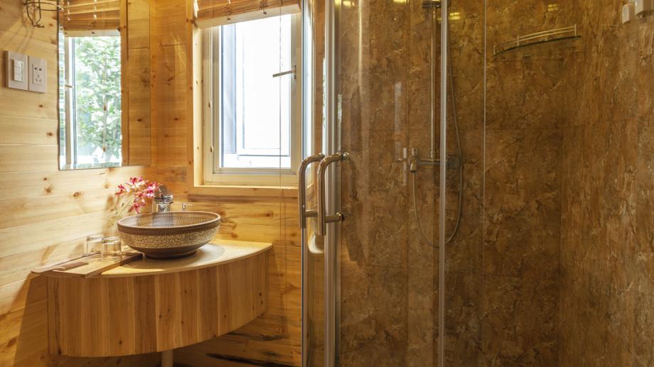 łazienka W Rustykalnym Stylu Allegropl