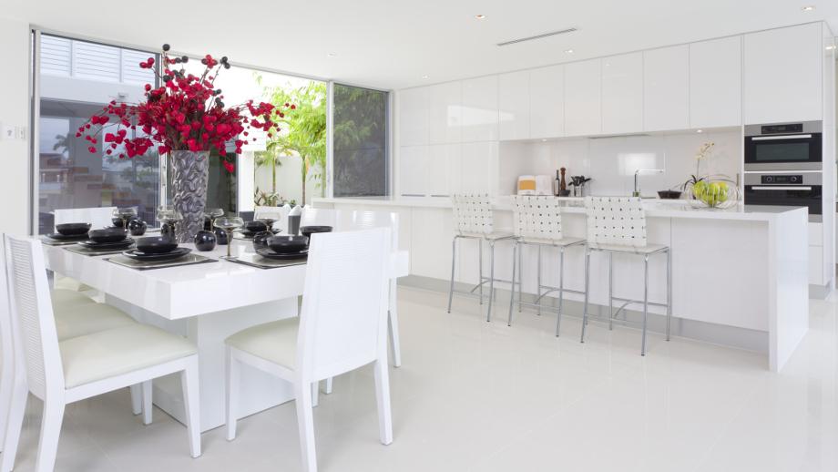 Kolorowe Dodatki Do Białej Kuchni Allegropl