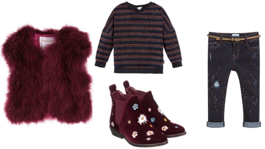 Stylizacje w kolorach jesieni – sprawdzone propozycje dla dziewczynki