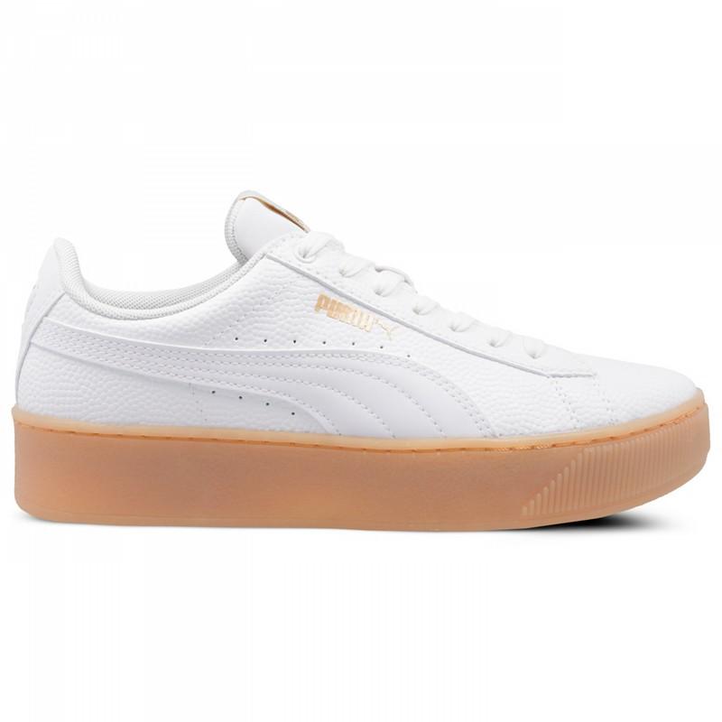 PUMA (38,5) VIKKY PLATFORM BSQ buty damskie białe