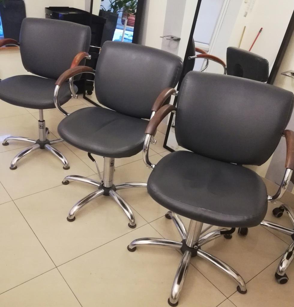 Fotele Fryzjerskie Uzywane Panda Szare 3 Sztuki 7766751881 Oficjalne Archiwum Allegro
