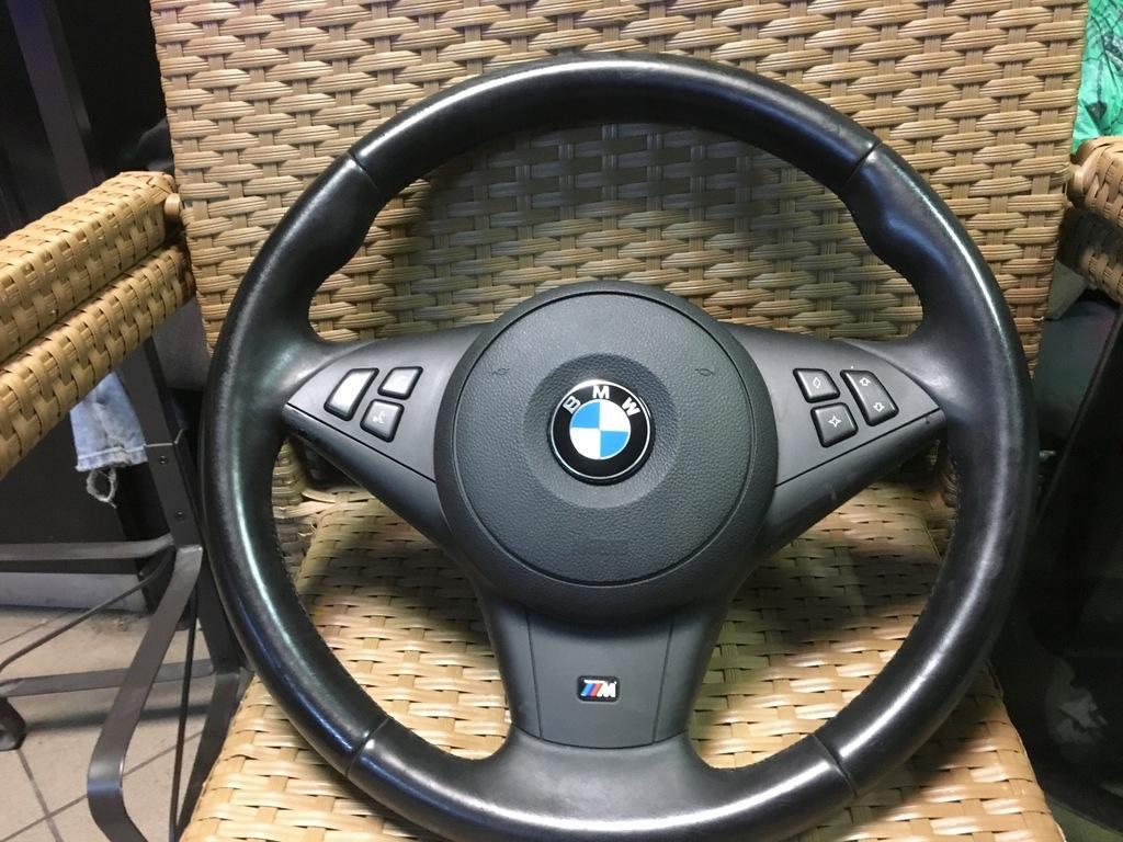 Bmw E60 E61 Lci Kierownica M Pakiet 7752604937 Oficjalne Archiwum Allegro