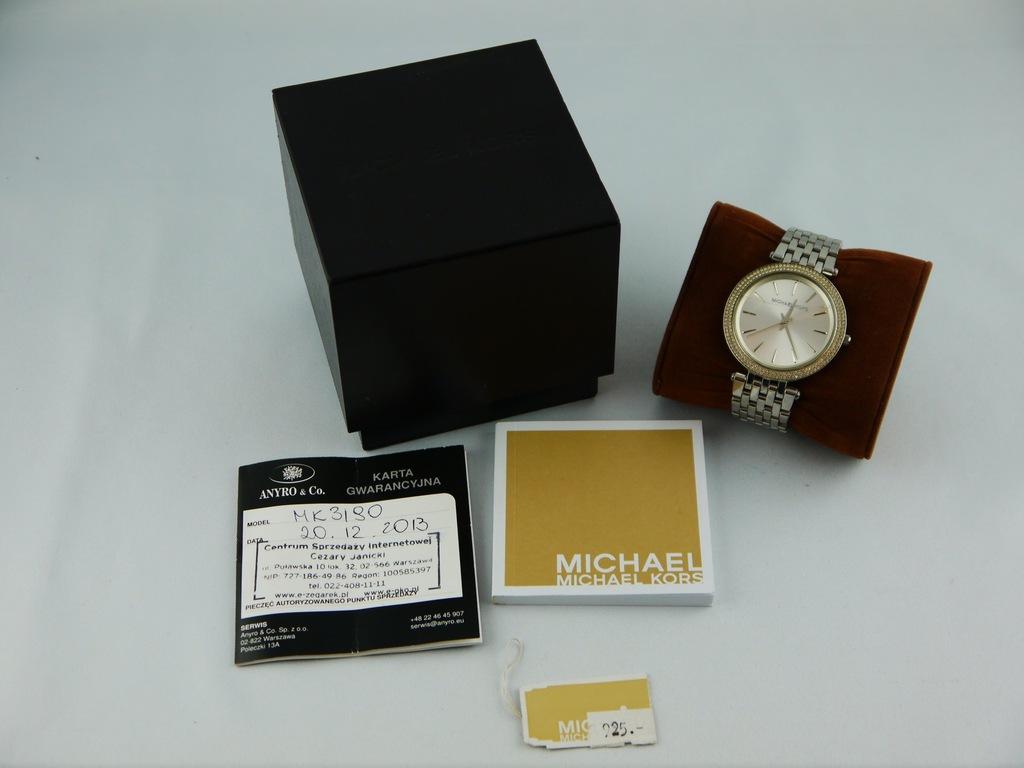 Michael Kors MK3190 komplet oryginał i lombard.pl