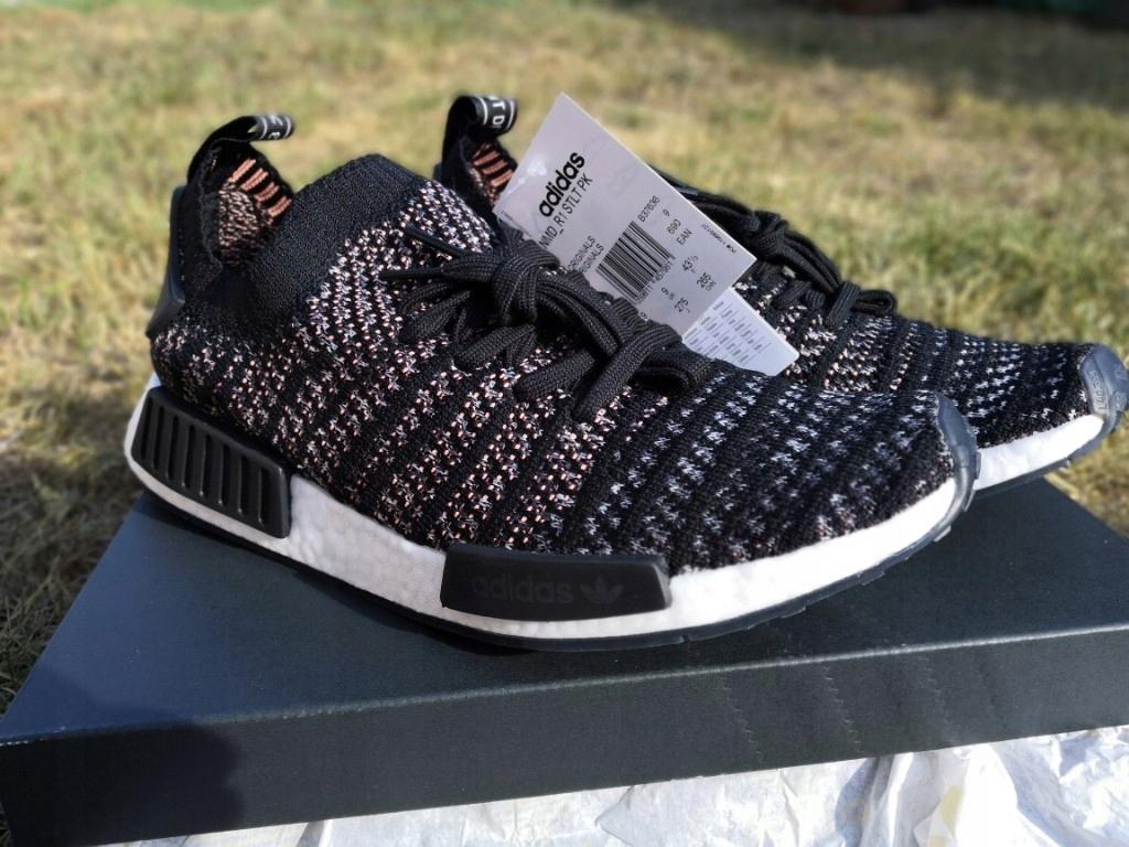 Buty Adidas NMD_R1 Primeknit 43 13 blackgrey