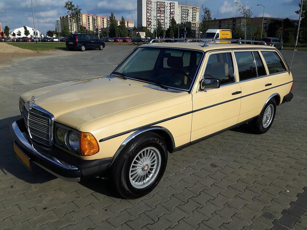 Mercedes Kombi W123 300 Turbo Diesel 7 Osobowy 7663811356 Oficjalne Archiwum Allegro