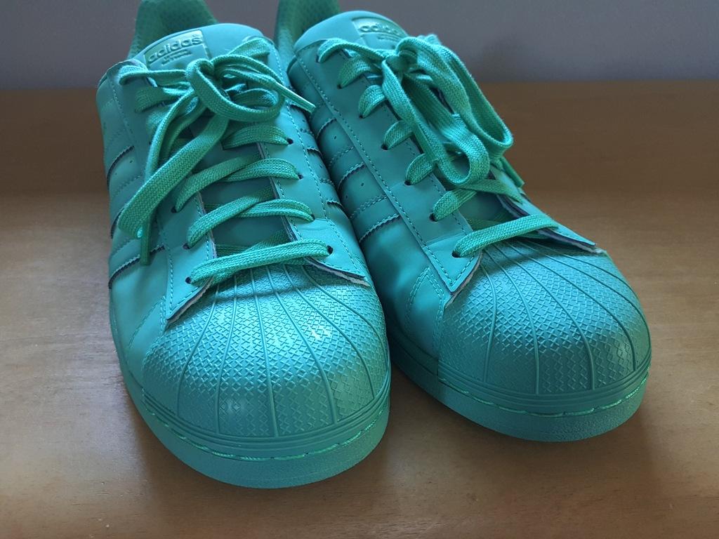 Buty Adidas Superstar Adicolor SHOCK MINT S80331