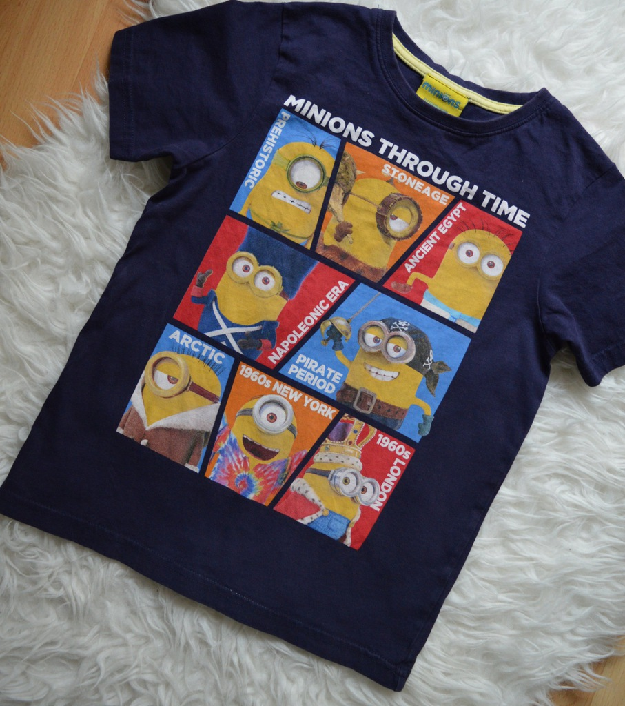 koszulka minions TU 5-6 lat 110-116CM  jak nowa