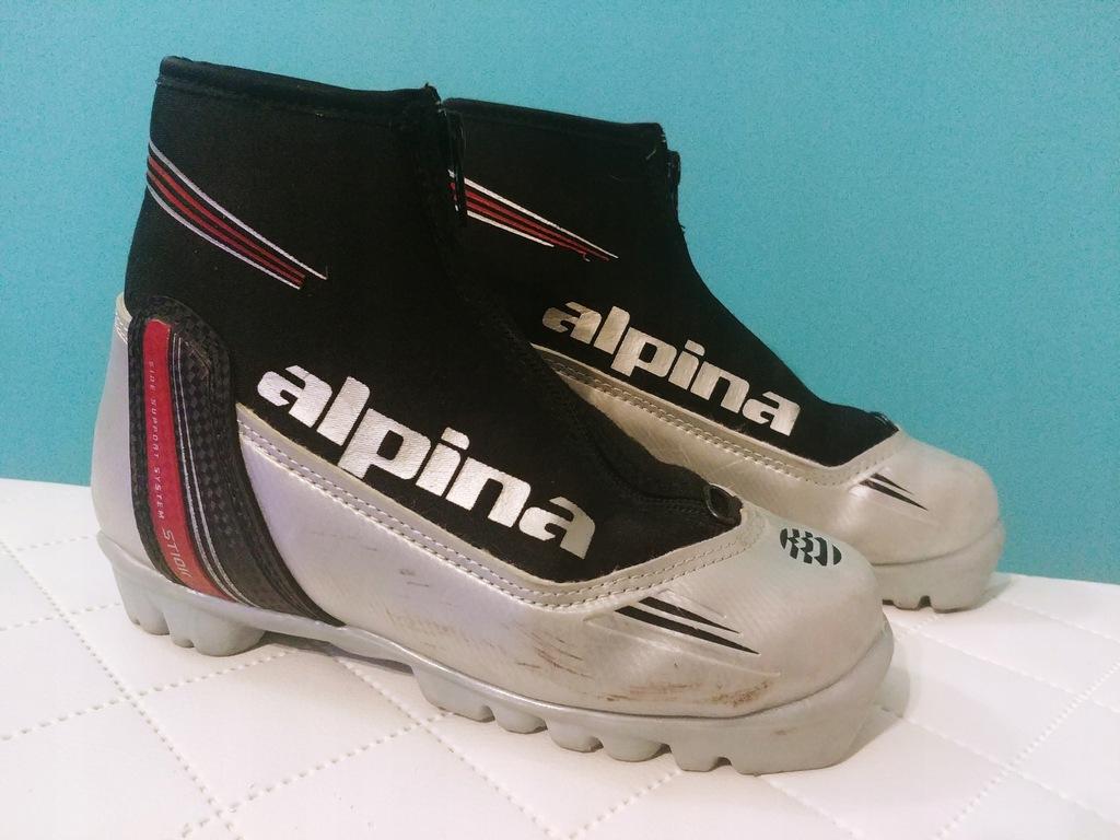 Buty do nart biegowych ALPINA roz. 33 NNN zamek