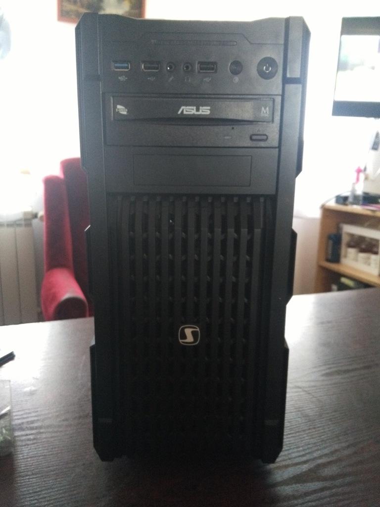 komputer do gier amd fx 6300,geforce gtx 1050ti oc