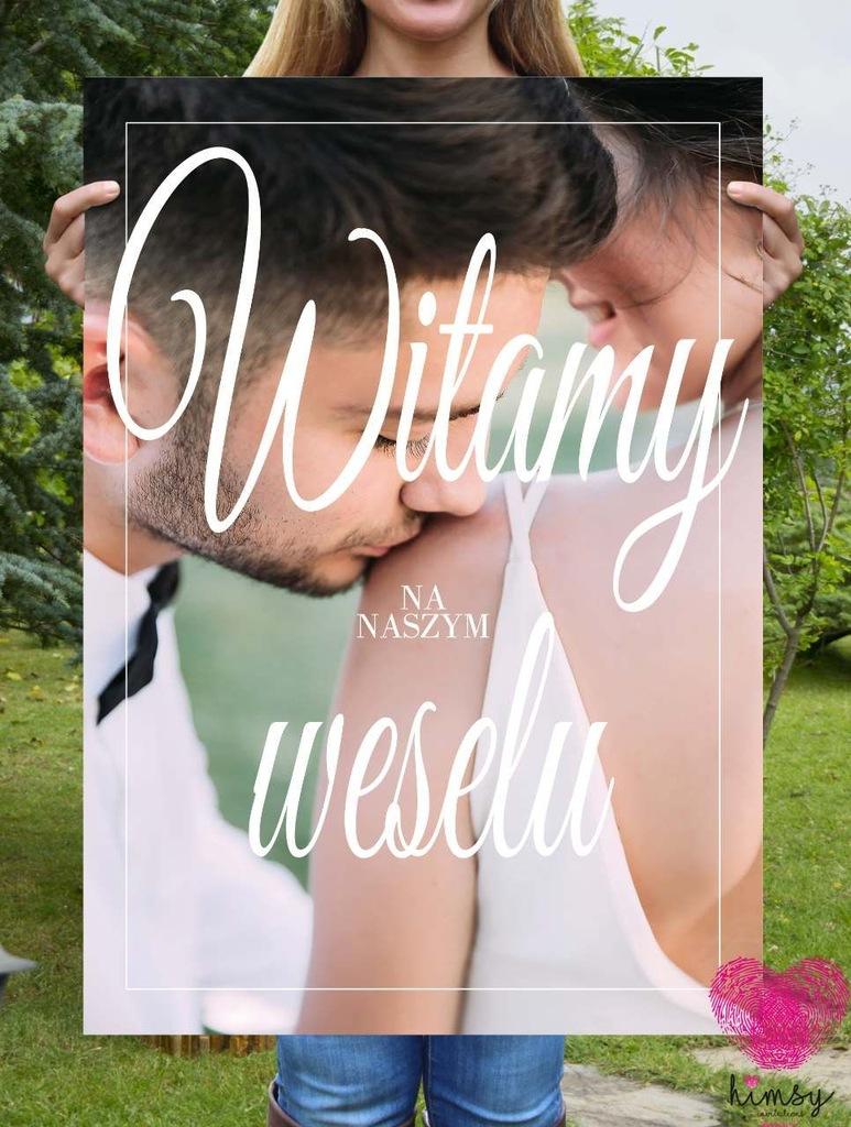 Plakat Powitalny - Photo - ślub, wesele