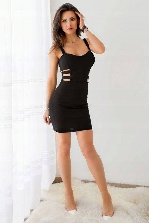 Sukienka Z Wycieciami Po Bokach Chabrowa Vubu 7446842887 Oficjalne Archiwum Allegro