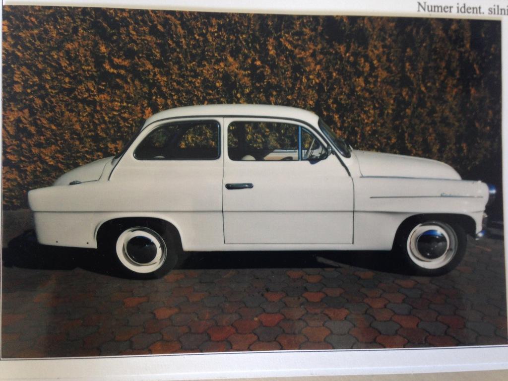 Skoda Octavia 985 rok prod. 1961