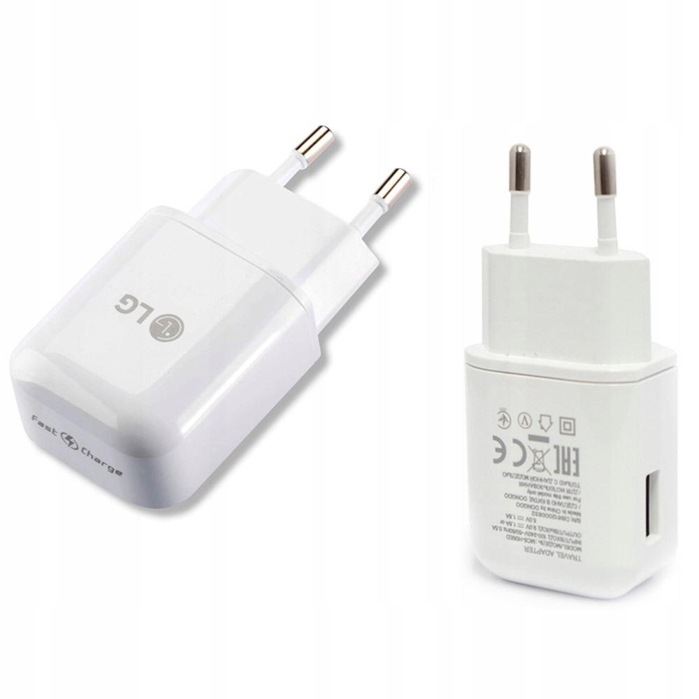 LG Q7 G7 Thinq   Ładowarka sieciowa LG FC 1.8A