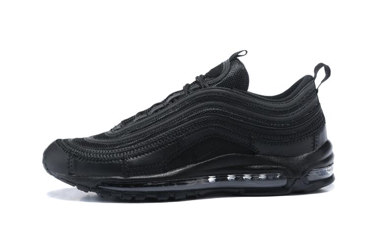 buty nike air max 97 całe czarne