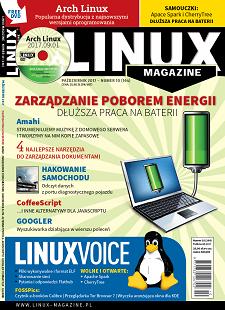 Linux Magazine 10/2017: Oszczędzanie energii Arch