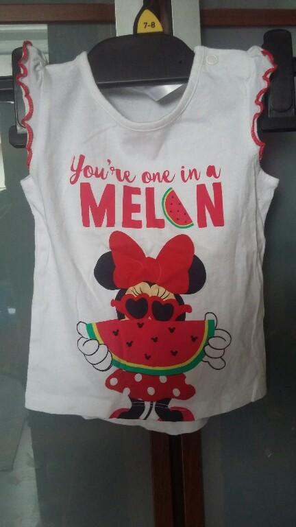 Disney koszulka dla dziewczynki r. 80, super stan