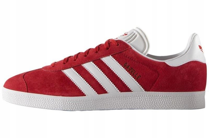 Czerwone Skrzane Buty Adidas Originals r.44