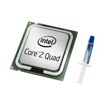 SKLEP Core 2 Quad Q8400 2.66GHz 4MB + Pasta Termo